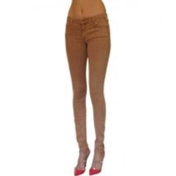 MOTHER Denim - MOTHER the looker pop skinny creamy cafe jeans